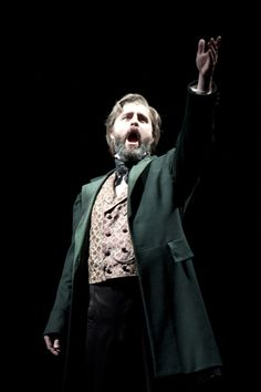 Peter Lockyer as Jean Valjean. Peter was the Jean I saw when I saw LM on tour!