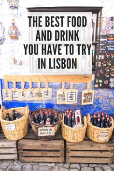 What to eat and drink in Lisbon