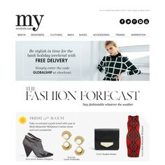 My wardrobe - Your Fashion Forecast for the Bank Holiday weekend. Plus free shipping