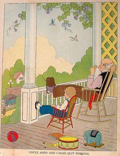 1929 Vintage Children's Book Ruth Eger