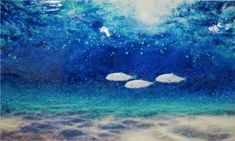 """""""Under the Sea"""" Life Aquatic, Under The Sea, Underwater, Waves, Celestial, Group, Creative, Outdoor, Art"""