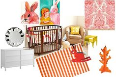 Mood Board for Zoey's room, makes me smile!