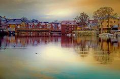 Trondheim and its beautiful Nidelva by Aziz Nasuti on 500px