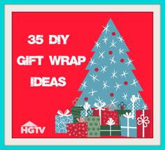 35 DIY gift wrap ideas>>  http://www.hgtv.com/handmade/25-creative-gift-wrap-ideas/pictures/index.html?soc=pinterest