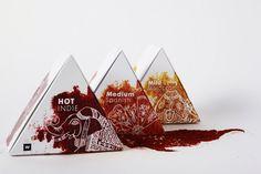 Woolworth's Spice Packaging by Kobie Nieuwoudt, via Behance PD