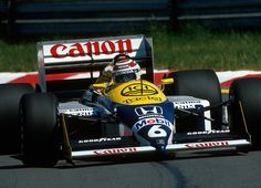 f1pictures: Nelson Piquet Williams - Honda 1987