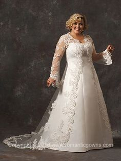 7011 Plus Size Wedding Gown - Wedding Dress