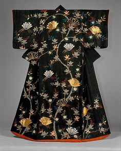 Someday--I want to learn about gold work! Plays With Needles: Kimono Exhibit at the Met
