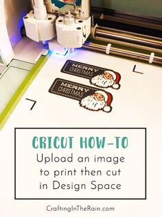 How to cut your own images with your Cricut -- it's easier than you might think! #ad