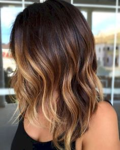 79 Hottest Balayage Hair Color Ideas for Brunettes