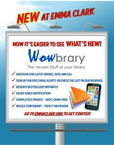 Discover what's NEW at the library! Just added to our website!