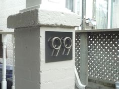 Numbra House Number System Creative House Numbers Pinterest - Best creative house number ideas