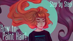 A year and 17 days since I showed you my previous method of painting hair, and my style has changed quite a lot! You can still see the previous video if you'...