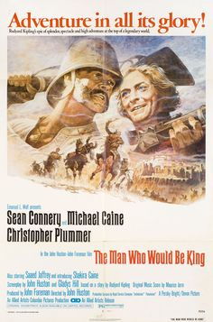 The Man Who Would Be King 1975 U.S. One Sheet Poster Tom Jung
