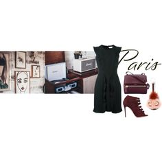 coffee in paris by jofrebcn on Polyvore featuring Fendi, Aquazzura and Givenchy