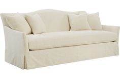 Lee Industries Sofa With Turned Leg Tight Back 3278 03