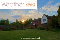 Weather check – We can't control the weather for viewings, but we can control our viewings for the weather. Click to read  #sellinghouses #sellingsecrets