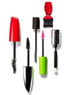 The 6 Best New Mascaras - Some look a little odd, but each one of these mascara brushes does something special. Allow us to school you on the latest, coolest, lash-enhancing marvels...