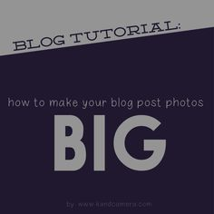 k[and]camera: TUTORIAL: resizing blog photos