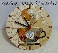 Enrich Your Room with an Oversize Clock Mosaic Diy, Mosaic Crafts, Mosaic Projects, Mosaic Wall, Mosaic Tiles, Big Wall Clocks, Wall Watch, Modern Clock, Wall Crosses