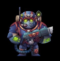 Warhammer 40k - Fanart on Behance