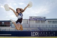 @Jordan Bromley Bromley Payne - Cheerleading - Senior Portrait - www.laceydphotography.com