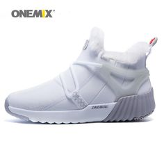 64fb35c52109 Winter Men s Boots Warm Wool Sneakers Outdoor Unisex Athletic Sport  Comfortable Running Shoes