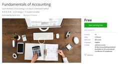 Coupon Udemy - Fundamentals of Accounting (Free) - Course Discounts & Free