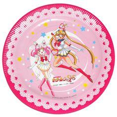 Sailor Moon Super S// party plates