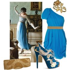 harem pants The Lovely Side: Downton Abbey Fashion Inspiration