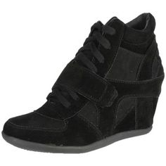 Breckelle's Metro-01W Women's Round Toe Lace Up Wedge Sneakers