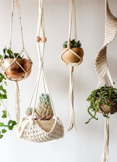 We rounded up our favorite stylish indoor hanging planters so you can hang with your plant babies all day.