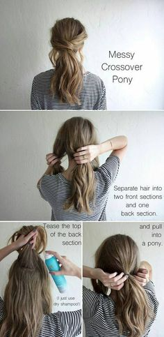 We are all loving having our hair up, so this how to is all about the Messy pony. At L&G Hair Studio where your Beauty is our Business  405-670-5336.