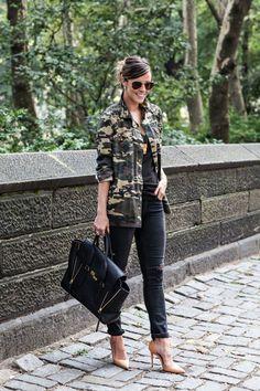 2013 Jacket: c/o Threadsence, old; T-Shirt: Vince; Jeans: Rag & Bone; Heels: Zara ; Bag: Phillip Lim
