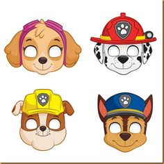 Paw Patrol Masks - 8 Pk Party Supplies Canada - Open A PartyImages Of Paw Patrol Hd Pics Wallpaper Party Masks Assorted Count AndroidsHere Are The 12 Most Exciting Paw Patrol Party Ideas! Check out these Paw Patrol party ideas, from party food to decorati Paw Patrol Party Favors, Paw Patrol Party Supplies, Paw Patrol Birthday Cake, Cake Birthday, Girl Paw Patrol Party, Paw Patrol Birthday Decorations, Party Cooler, Personajes Paw Patrol