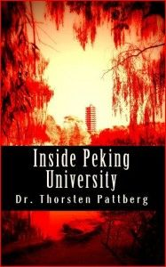 'Inside Peking University' is a collection of four critical and timeless essays by German cultural master and Confucian scholar Dr. Thorsten Pattberg of Peking University on the Chinese concepts of daxue, shengren, junzi, boshi, wenming, the Qingming Festival, and long (the Chinese dragon).