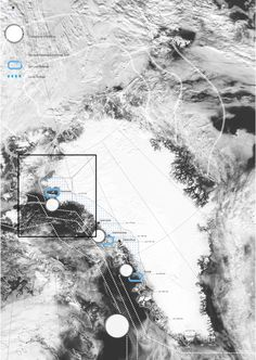 Alexandre Braleret (2012): Icebergs Trading Post in a Melting Greenland (GL), via alexandrebraleret.wordpress.com