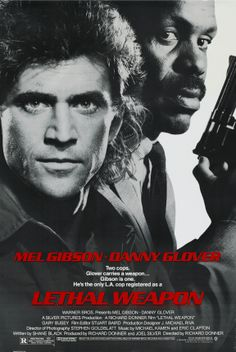 Lethal Weapon Action Movie Starring Mel Gibson & Danny Glover Directed by Richard Donner Movie Posters / Movies PopcornCinemaShow - For more from the movies, head over. Film Movie, Film D'action, See Movie, 80s Movies, Action Movies, Good Movies, Movies Free, Film Font, Movie Sequels