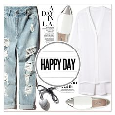"""Happy Day"" by lucky-1990 ❤ liked on Polyvore featuring Helmut Lang and Miu Miu"