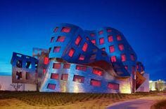 Architect: Frank Gehr. The Lou Ruvo Center for Brain Health in Las Vegas, Nevada, houses a research center and clinics dedicated to degenerative brain disease. Structurally, the Lou Ruvo Center follows Gehry's penchant for sweeping forms. The goal is to create new memories in a building designed to preserve them. The public spaces are remarkable.