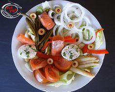 Ensalada de salmón ahumado - Platos Plis Plas