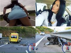 """Instagram star known for saucy stunts on motorbike dies in horrific high-speed crash . . A biker who found fame on Instagram with her saucy stunts has died in an horrific crash. Olga Pronina, 40, gained more than 200,000 followers online with her pictures and videos of risky manouevres. . . She frequently posted clips of her riding her BMW S1000RR motorbike at high speed while wearing very little. In one recent video, she blew a kiss from the seat while wearing just a short dress. . . Olga…"