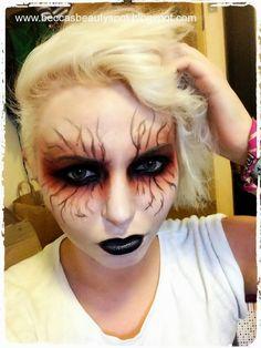 RebeccaDurrans: Crazy Goth/Witch/Demon | Halloween Makeup