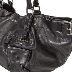 21dd530053 Sac en cuir femme IKKS (BG95009) | Vêtement Sacs femme Hiver 15 Sac Cuir