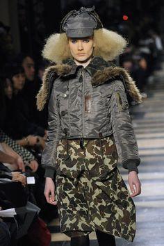 Junya Watanabe Comme Des Garcons Military Jacket AD2010 #CommedesGarcons #BasicJacket