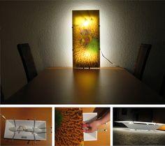 DIY: Meine neue Acryl-Glas-Lampe. Ich liebe sie! <3