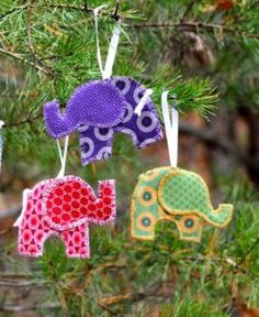 Timbali supports women in Swaziland, Africa. Check out their products! I love these elephant ornaments! $6 each