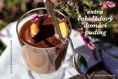 Extra čokoládový domácí puding nádherně sametový Lidl, Chocolate Fondue, Chili, Pudding, Food, Chile, Custard Pudding, Essen, Puddings
