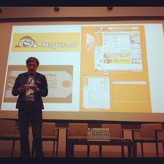 Stephan Ekbergh and his first venture. Apparently now owned by Orbitz?! #WITnext #traveljobcamp #Webintravel #travel #SMU #Singapore #university - @webintravel- #webstagram