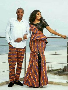 African clothing, couple matching outfit, african print in 2019